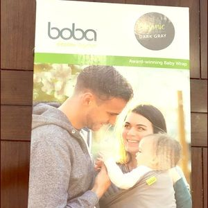 Other - Boba baby carrying wrap, color gray.